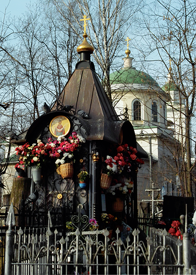 кладбище Могила Матронушки