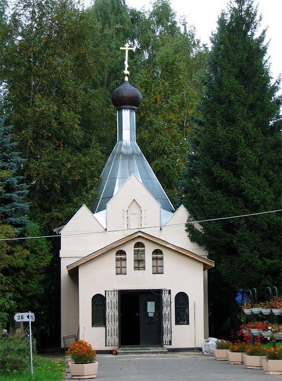 кладбище Часовня Владимира