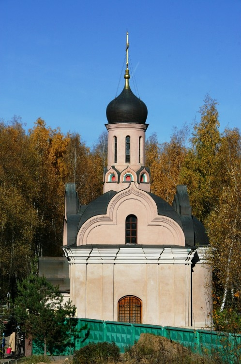 кладбище Церковь-часовня