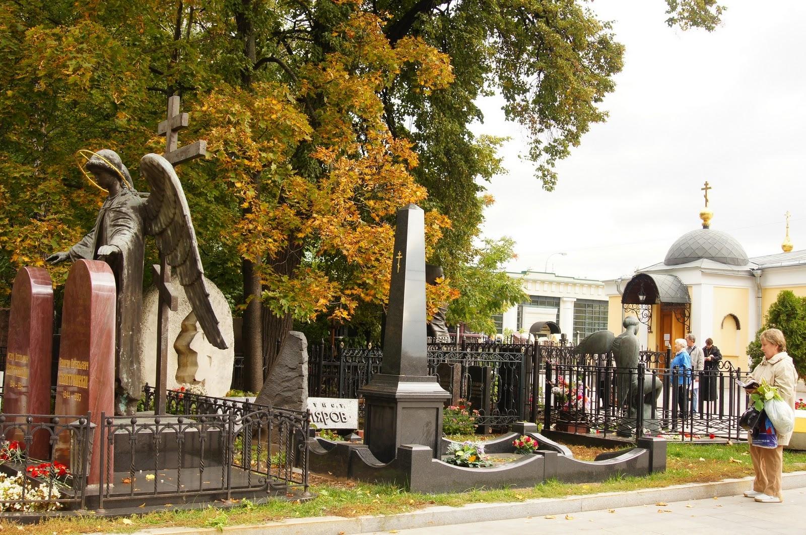 Ваганьковское кладбище адрес карта формы памятников